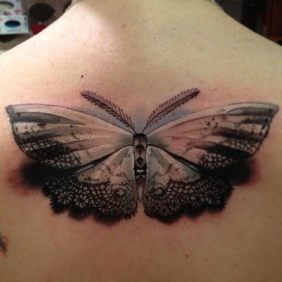 tattoo-3d-lace-moth