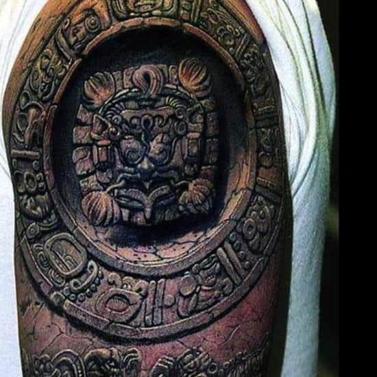 tattoo-3d-mayan