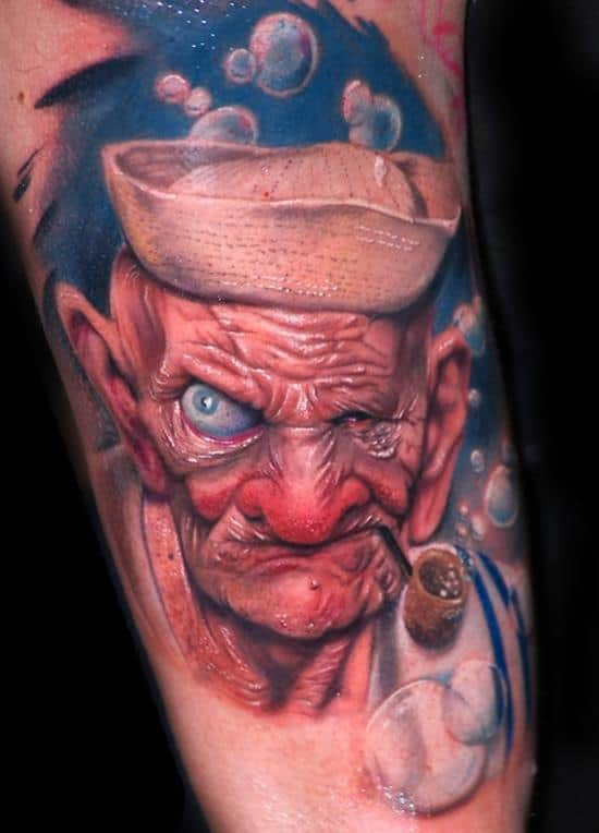 tattoo-3d-popeye