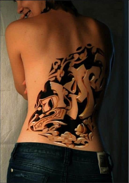 tattoo-3d-womans-back