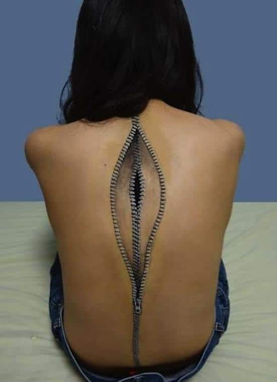 tattoo-3d-zippers