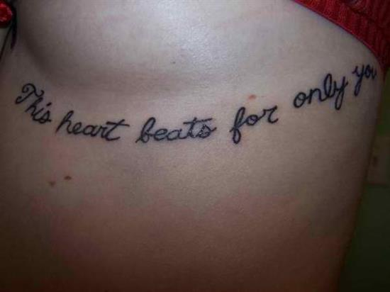 tattoo-quotes-this-heart-beats-for-only-you