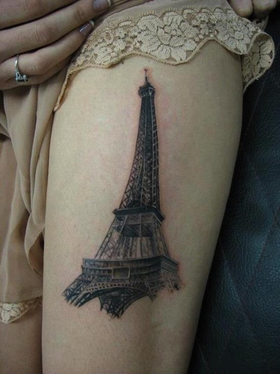thigh-tattoo-eifel-tower