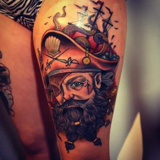 thigh-tattoo-pirate