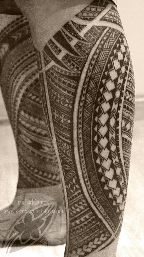 tribal-leg-tattoo