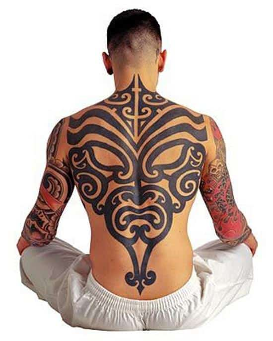 tribal-tattoo-on-back