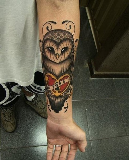 1-owl-forearm-tattoos