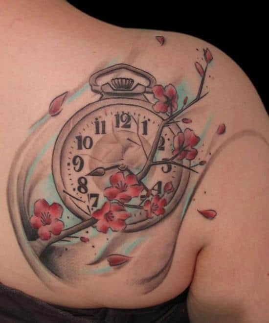 pocket Watch Blossom
