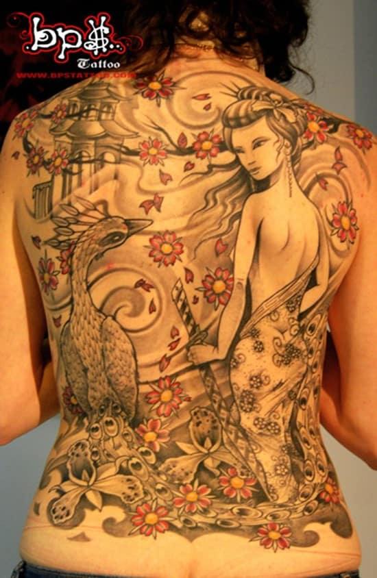 13-Peacock-Japanese-Tattoo