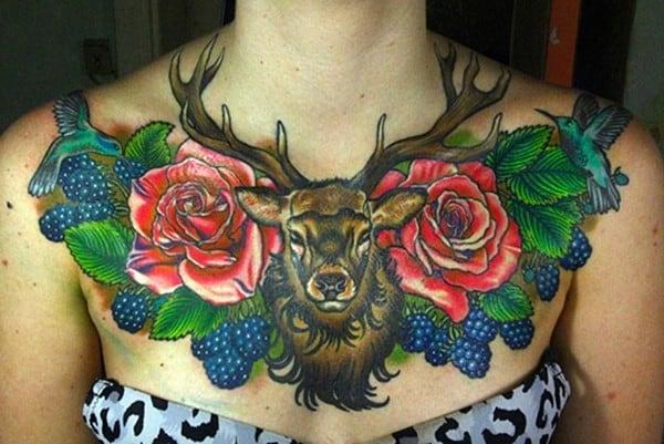 14-Deer-roses-and-blackberries