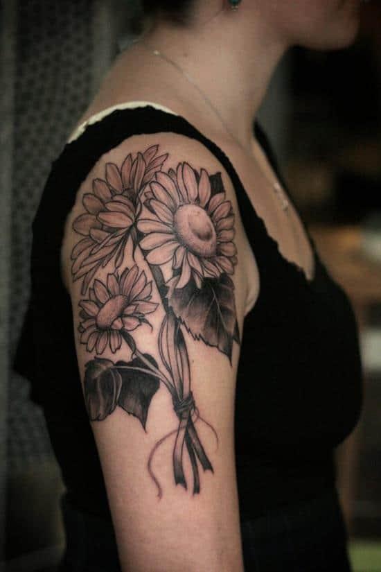 14-sunflower-tattoo
