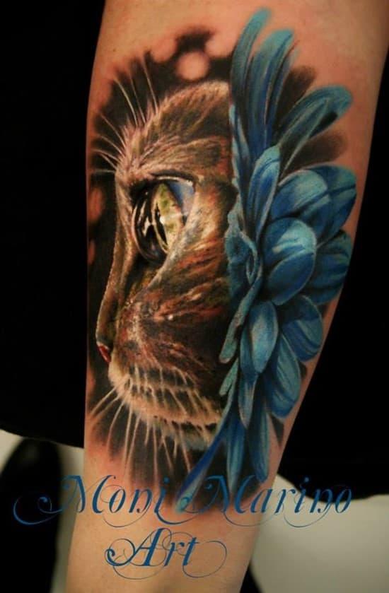 15-3D-cat-tattoo