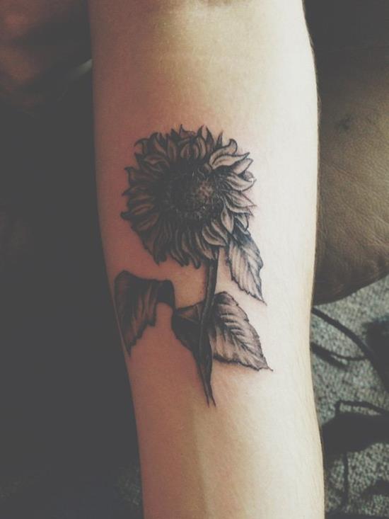 15-sunflower-tattoo