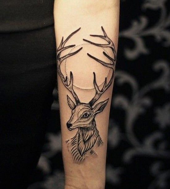 16-Cool-Deer-Tattoo