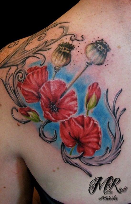 23-flower-tattoo