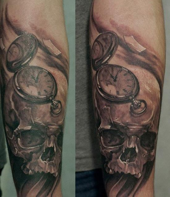 24-watch-on-skull-tattoo