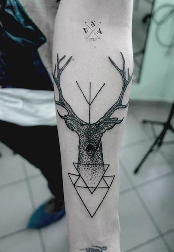 28-Deer-Tattoo-on-Forearm