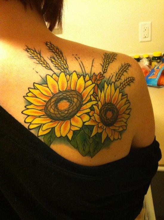 28-sunflower-tattoo