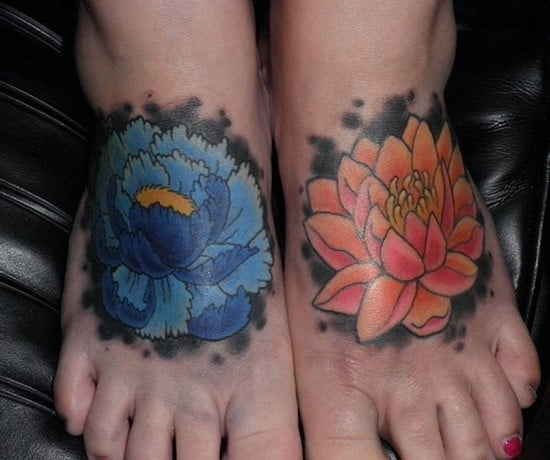 150 Artistic Watercolor Tattoos Ideas April 2018: 150 Eye Catching Foot Tattoo Designs (April 2018)