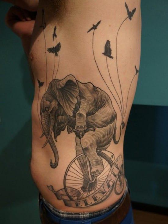 29-elephant-side-tattoo-for-men