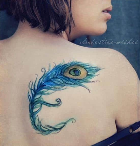 30-feather-tattoo-on-back