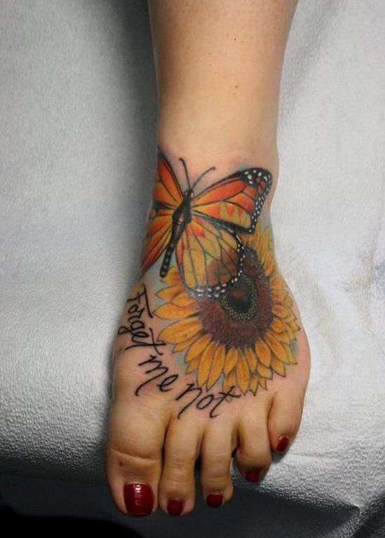 31-sunflower-and-butterfly-tattoo