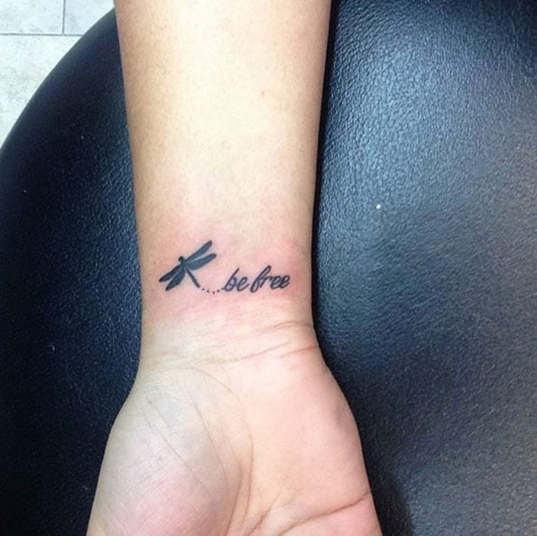Be Free Tattoo by Brittany