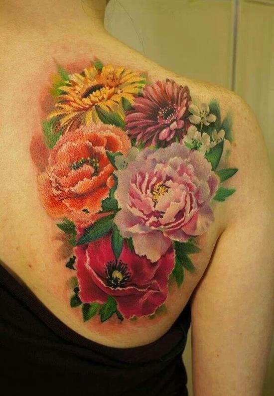 38-sunflower-and-rose-tattoo