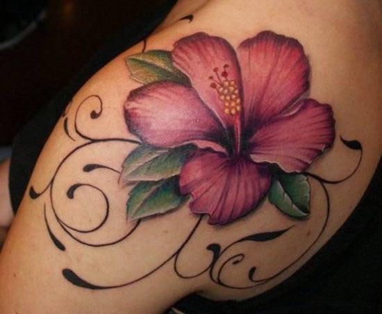 39-flower-tattoo-600x494