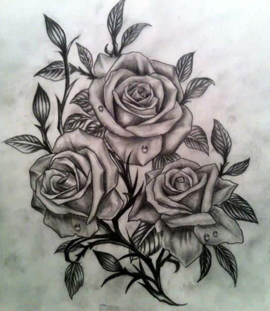3D-Rose-Tattoo-Designs