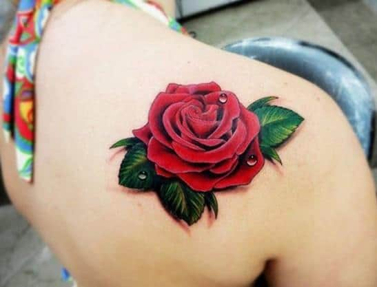 3D-red-rose-tattoo