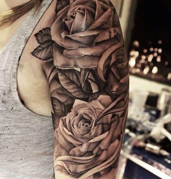 3D-rose-tattoo
