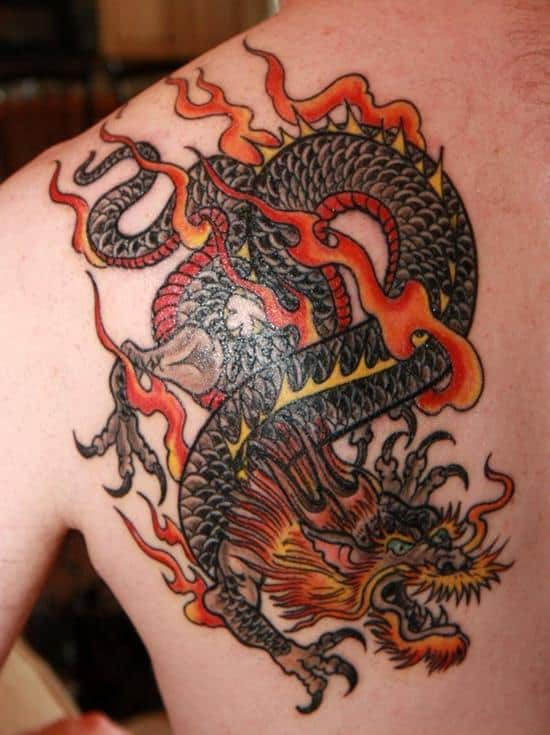 100 Alluring Dragon Tattoos And Meanings April 2018