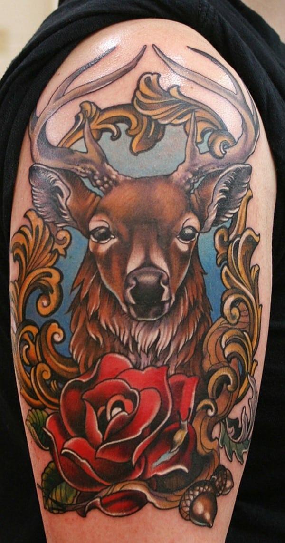4-Fancy-Deer-Tattoo