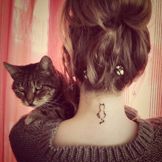 4-small-cat-neck-tattoo