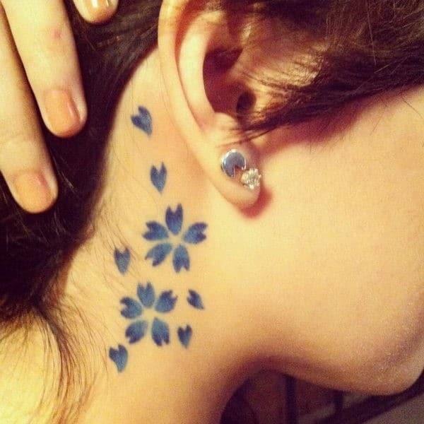 41-blue-sakura-neck-tattoo