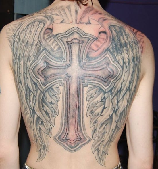 42-Cross-tattoo