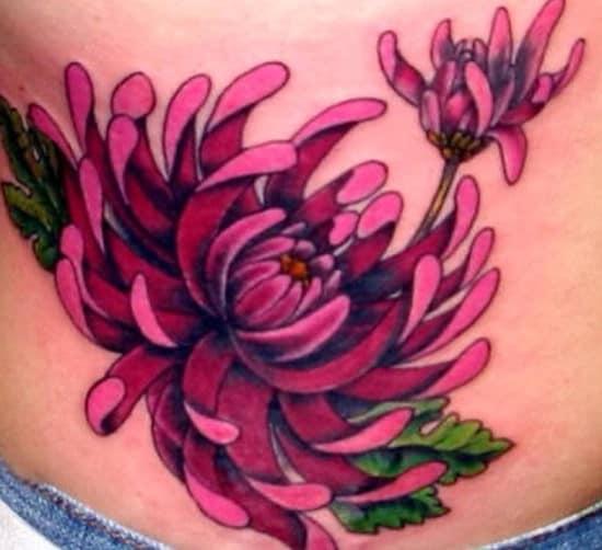 42-flower-tattoo