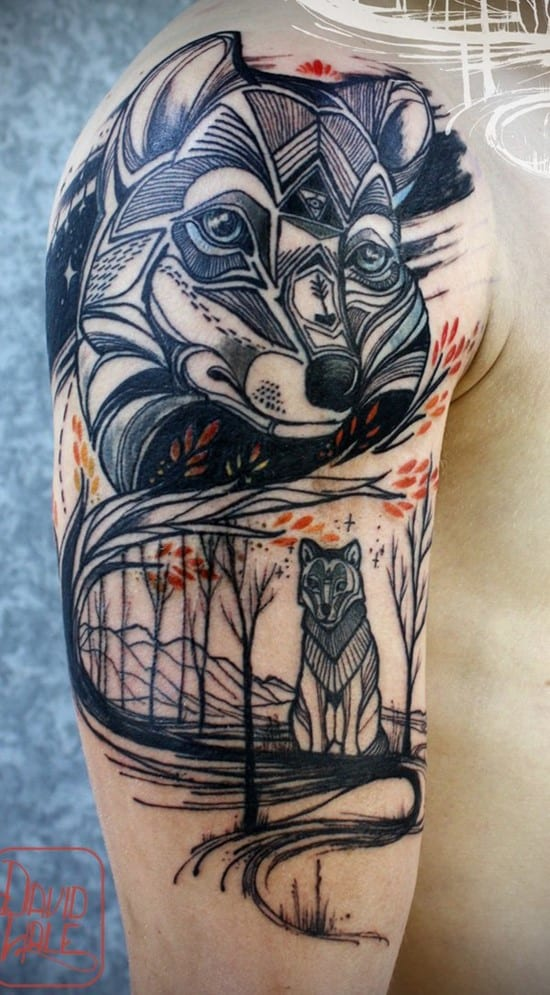 48-fox-arm-tattoo