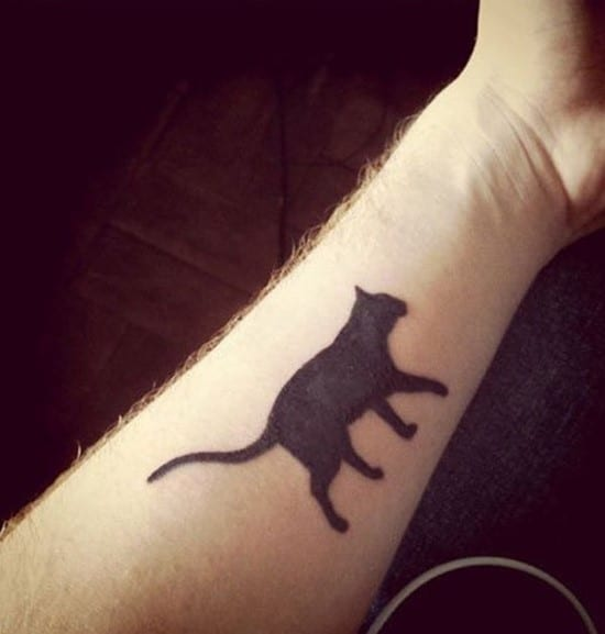 54-cat-forearm-tattoo