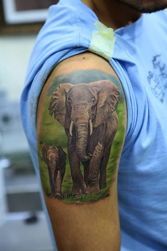 6-3D-elephant-tattoo