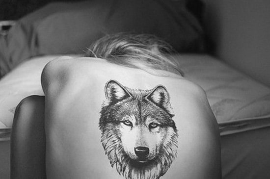 6-Wolf-Tattoo-on-back
