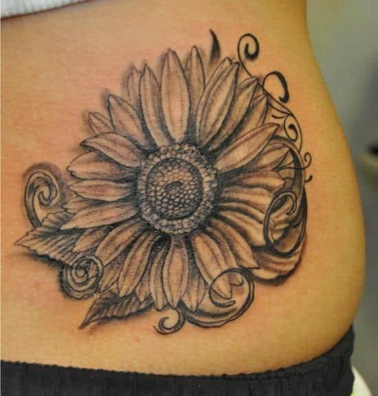 6-sunflower-tattoo