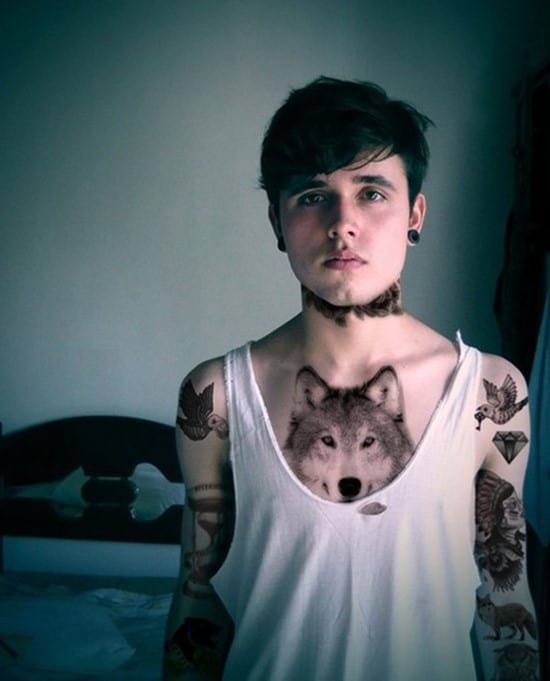 7-Chest-Wolf-Tattoo