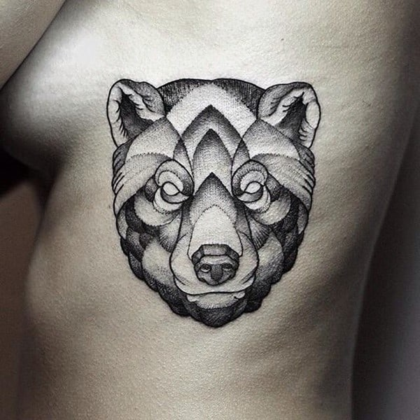 100 best bear tattoo designs meanings 2016 collection. Black Bedroom Furniture Sets. Home Design Ideas