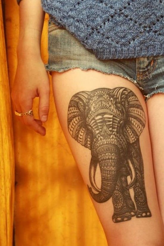 9-elephant-thigh-tattoo-for-girl