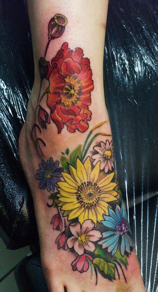 9-sunflower-tattoo