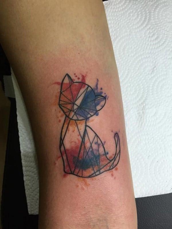 AD-Minimalistic-Cat-Tattoos-13