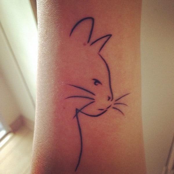 AD-Minimalistic-Cat-Tattoos-26