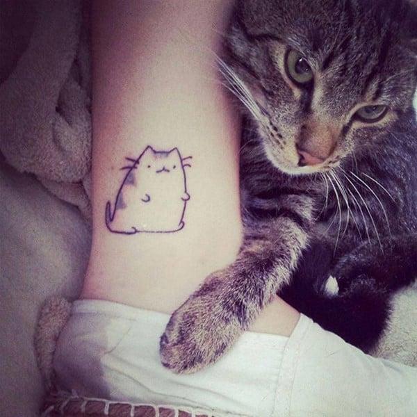 AD-Minimalistic-Cat-Tattoos-41